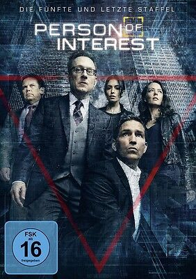 Person of Interest - Staffel 5 - NEU OVP - 3 DVDs