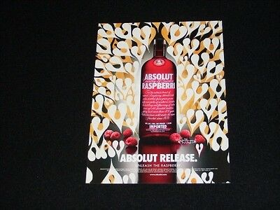ABSOLUT Vodka magazine clipping 2004 ad Absolut Release hearts