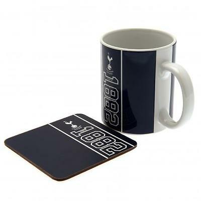 Official Licensed Football Product Tottenham Hotspur Mug & Coaster Set Cup Gift