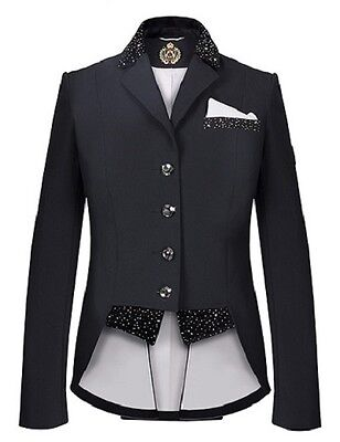 New Release!! Fair Play Girl's  Bea  Short Tail Dressage  Jacket In Black