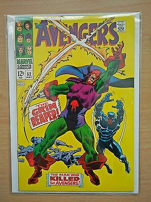 Avengers #52 - First Appearance of the Grim Reaper - NM+ - May 1968