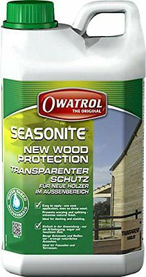 Seasonite 15l 10,60€/l Owatrol optimaler Holz Vorbereiter Flecht Zaun