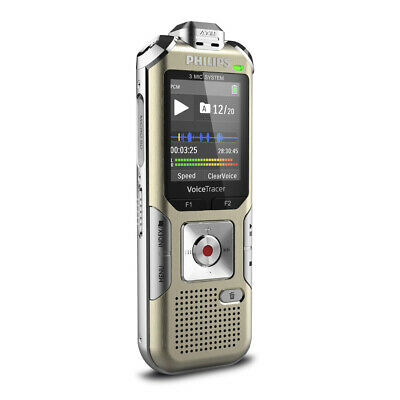 Philips Voice Tracer DVT8010 Digital Voice Recorder