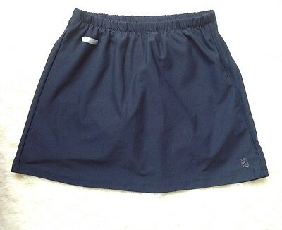 NIKE navy dry-fit tennis skirt built-in pants size M with inner pocket