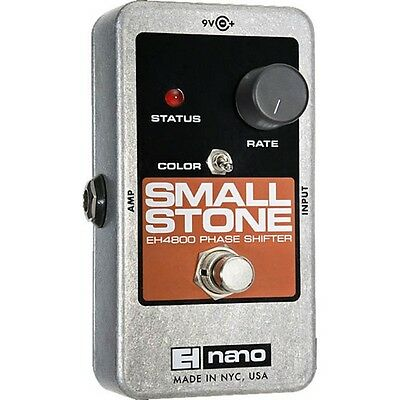 Electro Harmonix Small Stone Nano Phase Shifter Effects Pedal for Guitar