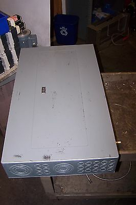 Square D 225 Amp Main Lug Panelboard 208Y/120 Vac 3 Phase 42 Circuit