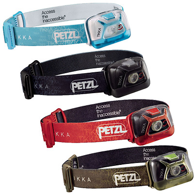 Petzl Tikka Headtorch NEW 200 Lumens Model Camping Hiking Fishing