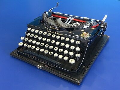Early Imperial No.1 The Good Companion Typewriter - 1937