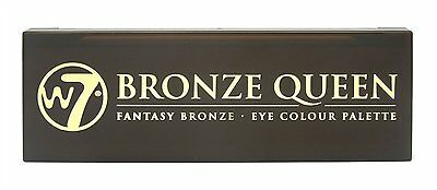 W7 Bronze Queen Fantasy Bronze 7 Colour Eye shadow Palette