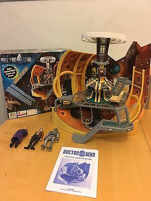 Complete Dr Who Detailed Tardis Model Console Playset 11th Doctor With Box
