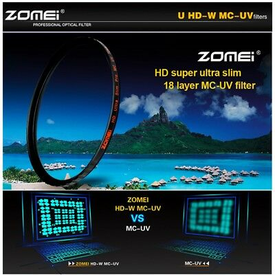 Zomei MC UV Filter HD Multi-Coated Camera Lens Protector 58/62/67/72/77/82mm