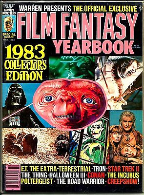 Warren Magazine Famous Monsters Of Filmland Film Fantasy 1993 Yearbook Vfn