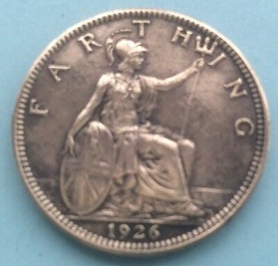 1926 King George V Farthing