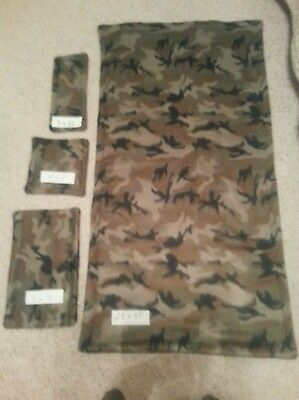 "PET Guinea Pig Cage Liner Midwest 2448"" 4pc Kits! 3 Layers of Fleece & Uhual"