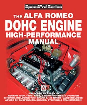 Alfa Romeo DOHC High-performance Manual (SpeedPro) book paper