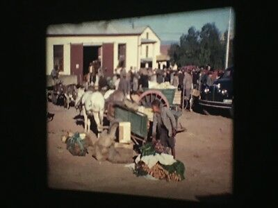 16mm Cine Film - Cape Town South Africa Home Movie In Colour - 1950s - (F6/4)