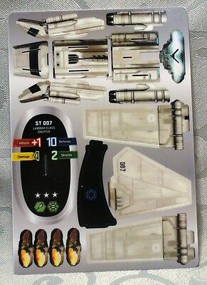 Star Wars Wizkids Pocketmodel Vehicle ST 007 Lambda Class Shuttle - 020