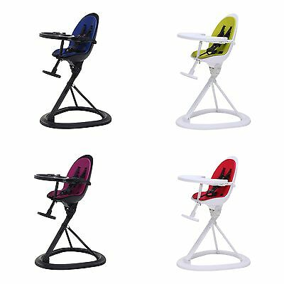 Ickle Bubba Orb+ Baby Feeding High Chair With 5 Point Harness From Birth To 17kg