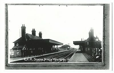 Great Eastern Railway North Walsham Station Interior, Repro Photo