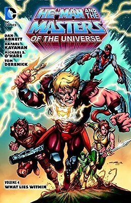 He-Man and the Masters of the Universe by Dan Abnett Paperback Book New