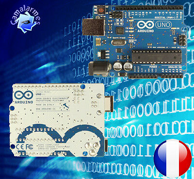Arduino Uno Rev 3 ATmega 328 + cable USB fournis