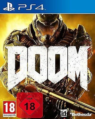 Doom  PS4 Playstation 4  NEU OVP  100% UNCUT