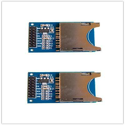 Memory SD Card Module Slot In Socket Reader for Arduino ARM PIC MCU PCB BOARD XC