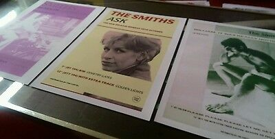 The Smiths set of three  poster/print A3 beautiful quality heavy canvas paper