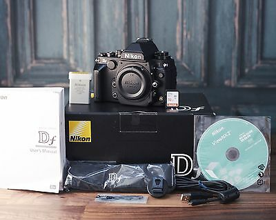 Nikon Df Camera Body, 32GB SD Card, ONLY 1895 FRAMES!