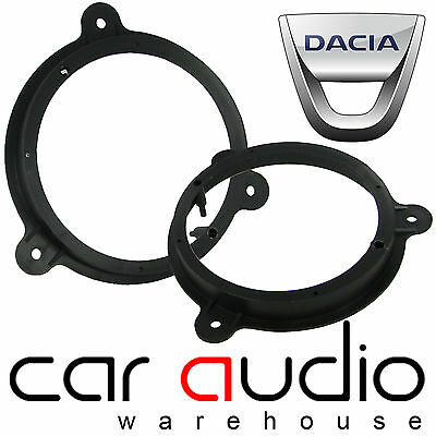 "Dacia Sandero 2008 - 2014 5.25"" 13cm Rear Door Car Speaker Adaptor Ring Brackets"