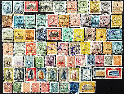 Paraguay Stamps From 1904 To 1925