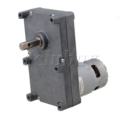 DC12V Speed Reduction 5RPM Gear Motor 250KG.CM Metal Gearbox Motor