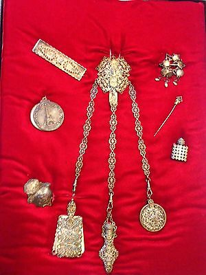 VICTORIAN JEWELRY Collection Lot