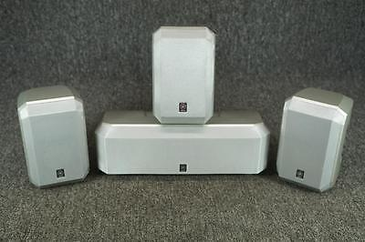 Hedendaags SET OF 4 Yamaha Surround Sound Speakers #NS-AP1600S(SI) - $55.00 UF-11