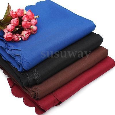 90x156cm Rectangle Pure Color Banquet Polyester Hotel TableCloths Table Cover