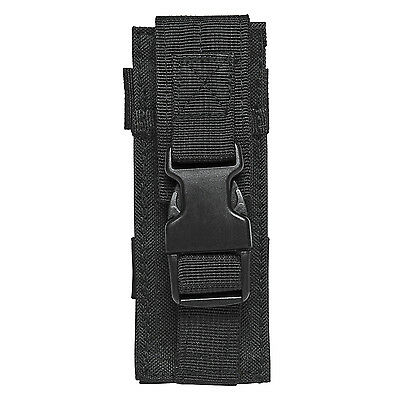NcStar BLACK Single M9 Pistol Mag or Flashlight Multi-Tool MOLLE Holster Pouch