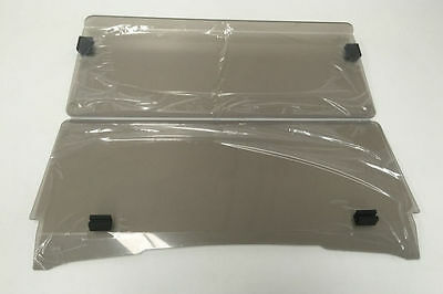 Windshield For Ezgo Txt Golf Cars. Tinted Or Clear. Strong 4Mm Acrylic