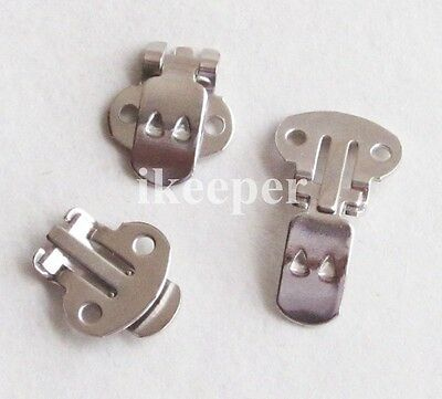 20pcs Blank Metal Shoe Clips (1.3*1.4CM) Shoe Decoration DIY