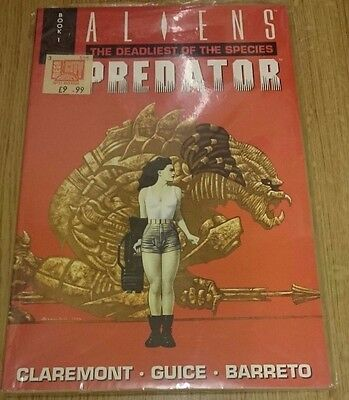 Aliens vs Predator Deadliest of the Species Book 1 and Book 2