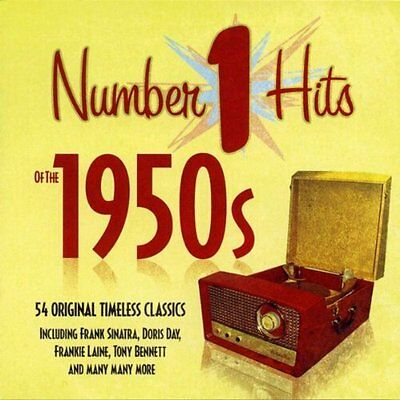 Number 1 Hits of the 1950s [Audio CD] Various Artists (NEW & SEALED)