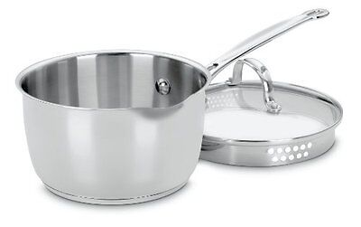 Cuisinart 719-18P Chef's Classic Stainless 2qt Saucepan with Cover