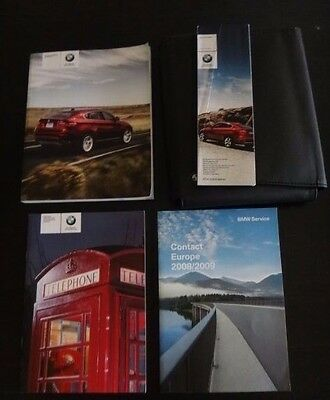 BMW X6 E71 Owners Manual/Handbook Pack & Wallet 2008-2012