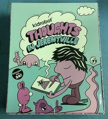 "Thoughts In Jeremyville Mini Series 1"" Asst (25Ct) Kidrobot"