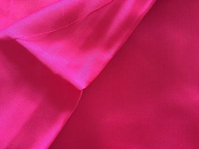 """Vintage 1940/50's Couture Fabric Bright Pink satin Old Stock 2 Yard X 47"""""""