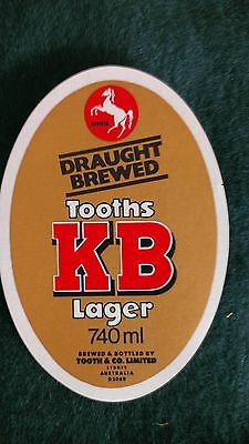 Tooth's KB Beer Label