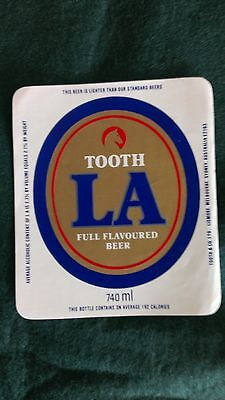Tooth's LA Beer Label