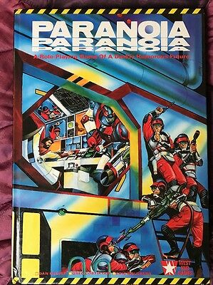 Paranoia Role Playing Game 1st First Edition Games Workshop West End Games