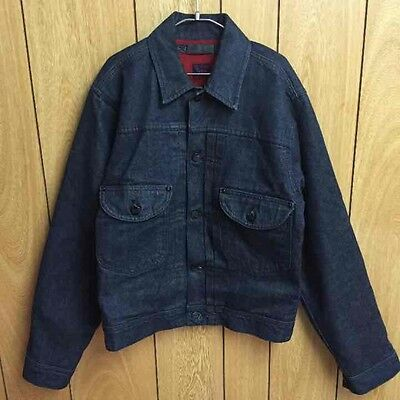 RARE ISSEY MIYAKE × Lee Denim Jean Jacket Men's Outerwear Size 36