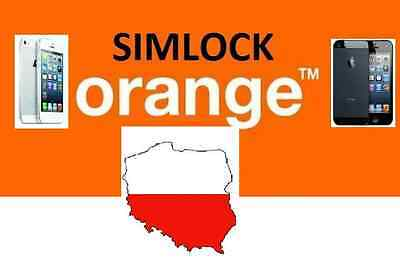 Cheapest Orange Poland Iphone 4/5/6/6S/se/7 Official Factory Unlock All Imei