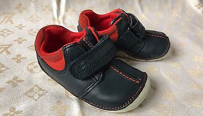 Clarks Baby Boy Shoes Size 4 F